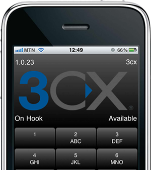 3CXPhone for iPhone app