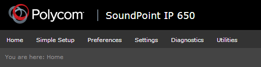 Polycom - SoundPoint IP