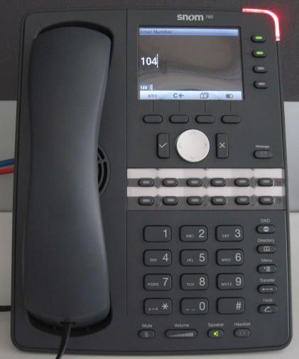 make calls snom 760 720