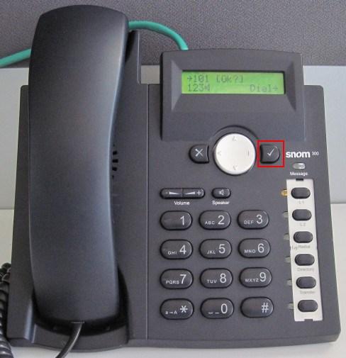 make calls snom 300