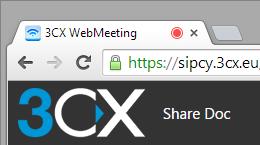 Screenshot webRTC