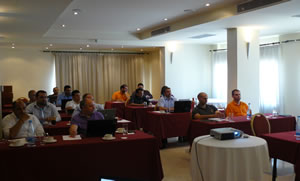 Image of the attendees at the 3CX Partner Training in Cyprus
