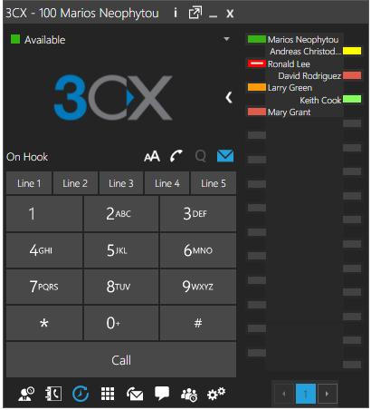 blf expansion module screenshot