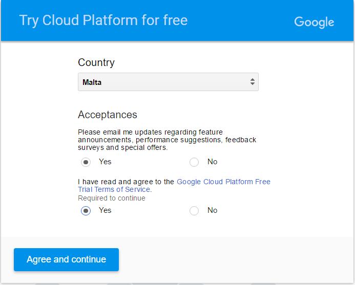 Agreement_Cloud Platform for free