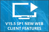 Learn more about the new Web client features