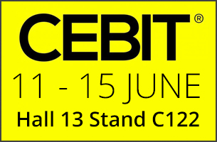 Cebit 2018 - Don't miss Hall 13, Booth C122