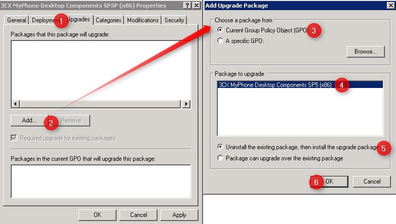 Upgrade 3CX Desktop Components via GPO