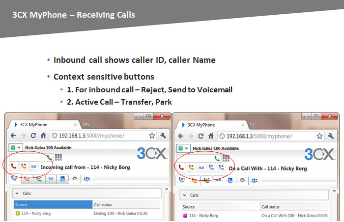 3CX Phone System Version 10 Features